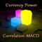 Currency power correlation MACD