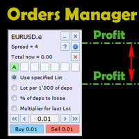 Graphical Orders Manager