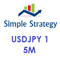 Simple Strategy USDJPY 1