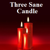 Three  Sane Candle