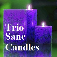 Trio Sane Candles