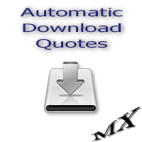 Automatic Download Quotes