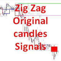 Zig Zag Original candles Signals