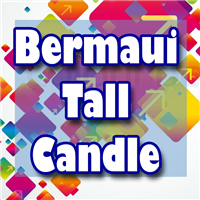 Bermaui Tall Candle
