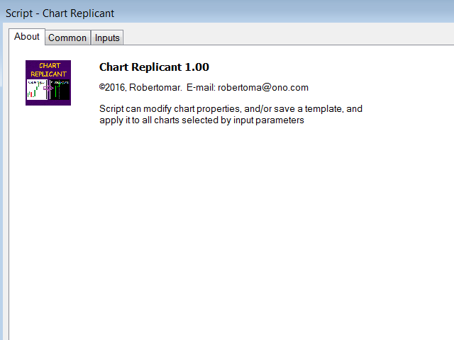 Chart Replicant