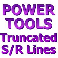 KL Truncated Support Resistance Lines