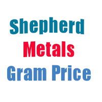 Shepherd Metals Gram Price