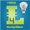 Moving Ribbon Force
