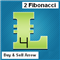 Two Fibonacci Lines with Buy and Sell Arrows