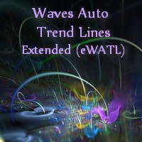 Extended Waves Auto Trend Lines MT5