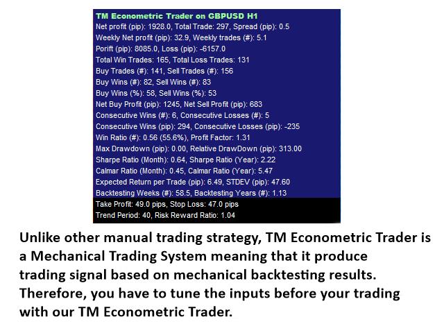 TM Econometric Trader MT4
