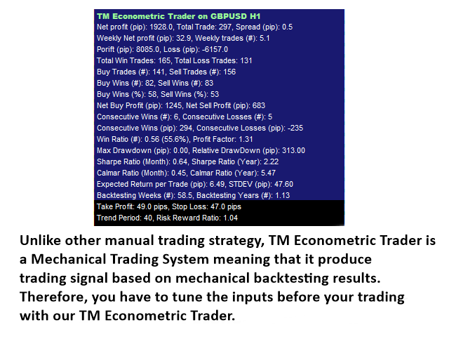 TM Econometric Trader MT5