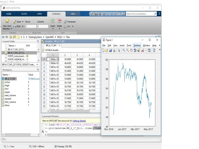 Direct export to matlab