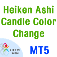 Heiken Ashi Candle Color Change Alerts Serie MT5