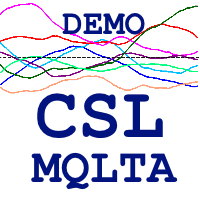 MQLTA Currency Strength Lines DEMO