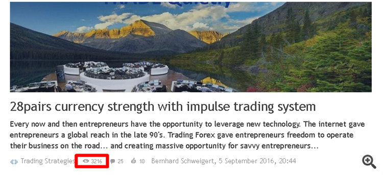 currency strength trading