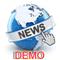News Calculator and Trading Panel Demo