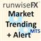 Market Trending plus Alert by RunwiseFX