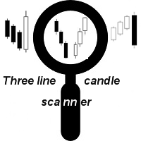 Three line candle scanner with RSI filter
