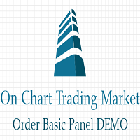 On Chart Trading Market Order Basic Panel Demo