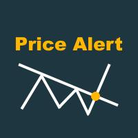 Price Alert with Trendline