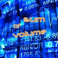 Sum Volume