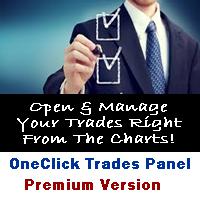 One Click Trades Panel Premium