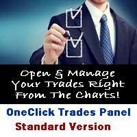 One Click Trades Panel Standard