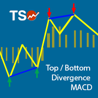 TSO Top Bottom Divergence MACD MT5