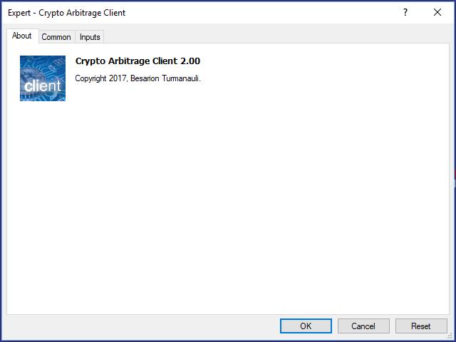 Crypto Arbitrage Client