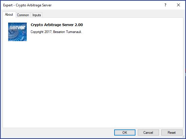 Crypto Arbitrage Server