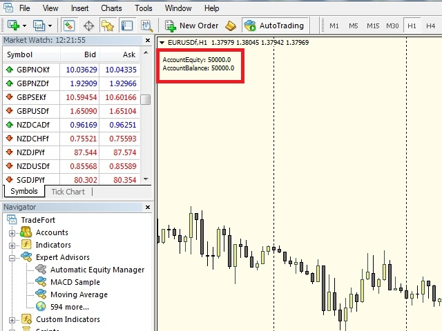 Close by Equity Percent - expert for MetaTrader 4