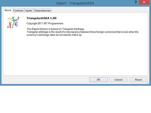Triangular Arbitrage Advantage MT4