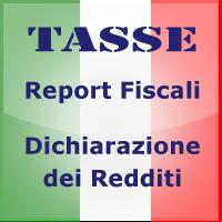 Tasse e Fisco Modello Redditi Italia