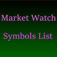 Market Watch Symbols List