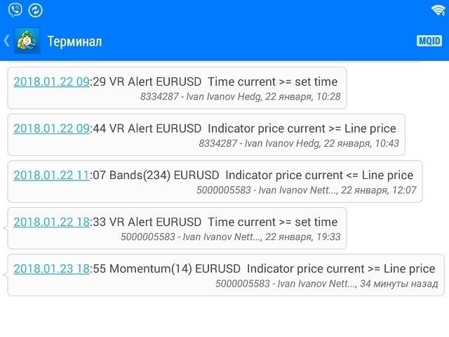 Buy The Vr Alert Mt5 Trading Utility For Metatrader 5 In