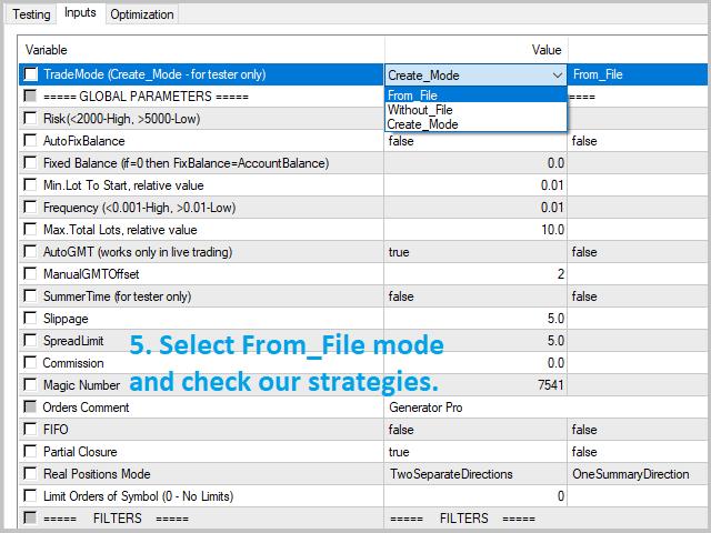 Forex expert advisor generator pro v 4
