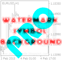 Watermark symbol background PRO MT5