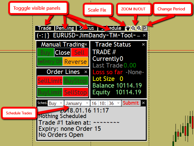 Jimdandy Trade Management Tool