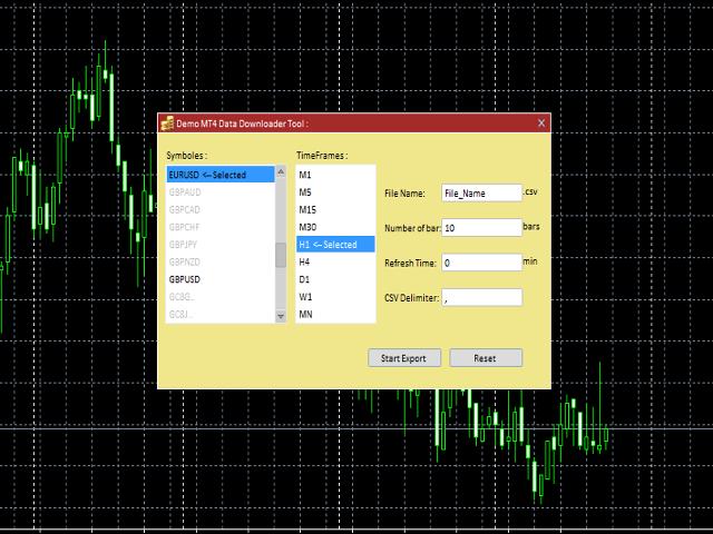 Data Downloader Demo