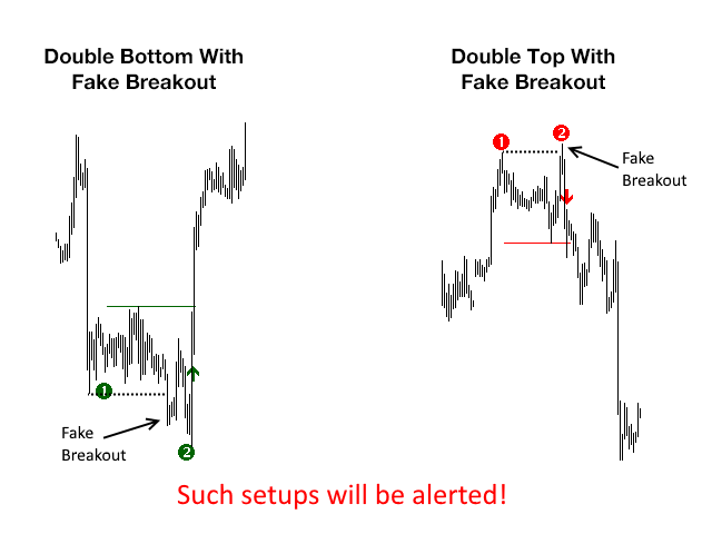 Download the 'Ultimate Double Top Bottom Reversal Scanner FREE