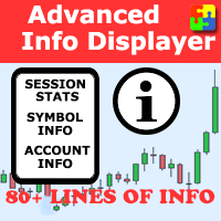 Advanced Info Displayer mt5