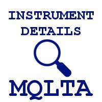 MQLTA Instrument Details