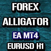 Forex Alligator EURUSD h1