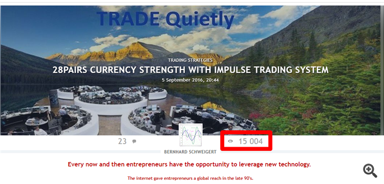 28pairs currency strength trading system