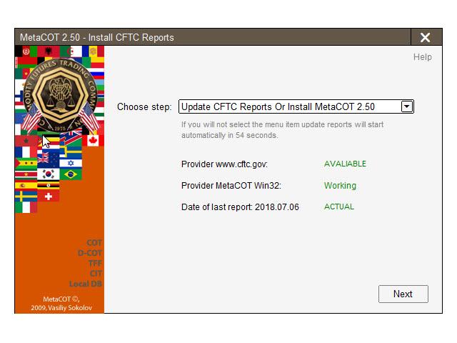 MetaCOT 2 Install CFTC Reports MT5
