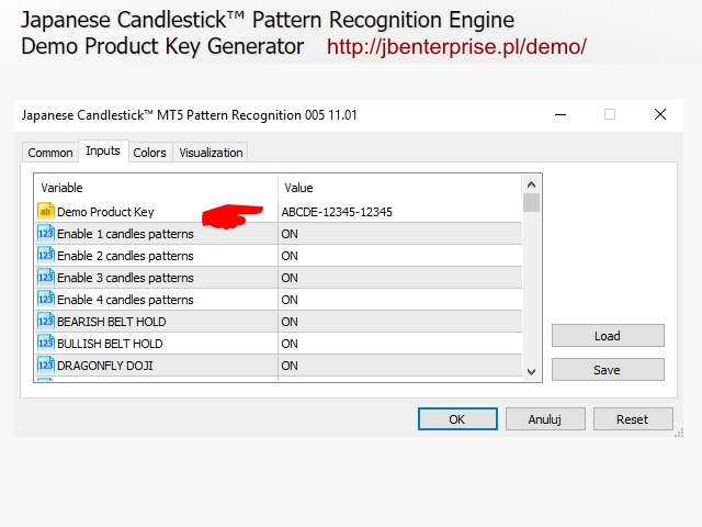Download The Japanese Candlestick Mt5 Pattern Recognition Demo