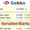 Gekko Variation Marks