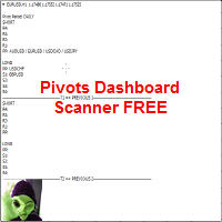 Pivots Dashboard Scanner FREE