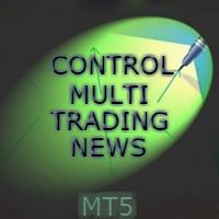 Control Multi Trading News MT5